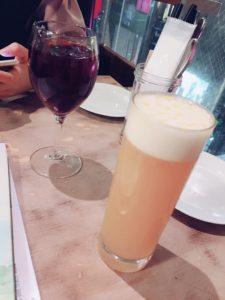 自家製サングリアと季節のフルーツビール