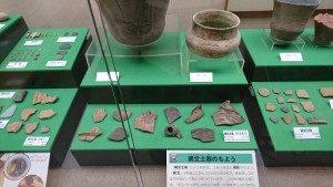 2000年以上前の縄文時代の出土物