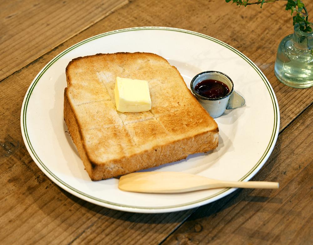 広島県産米粉パンのバタートースト
