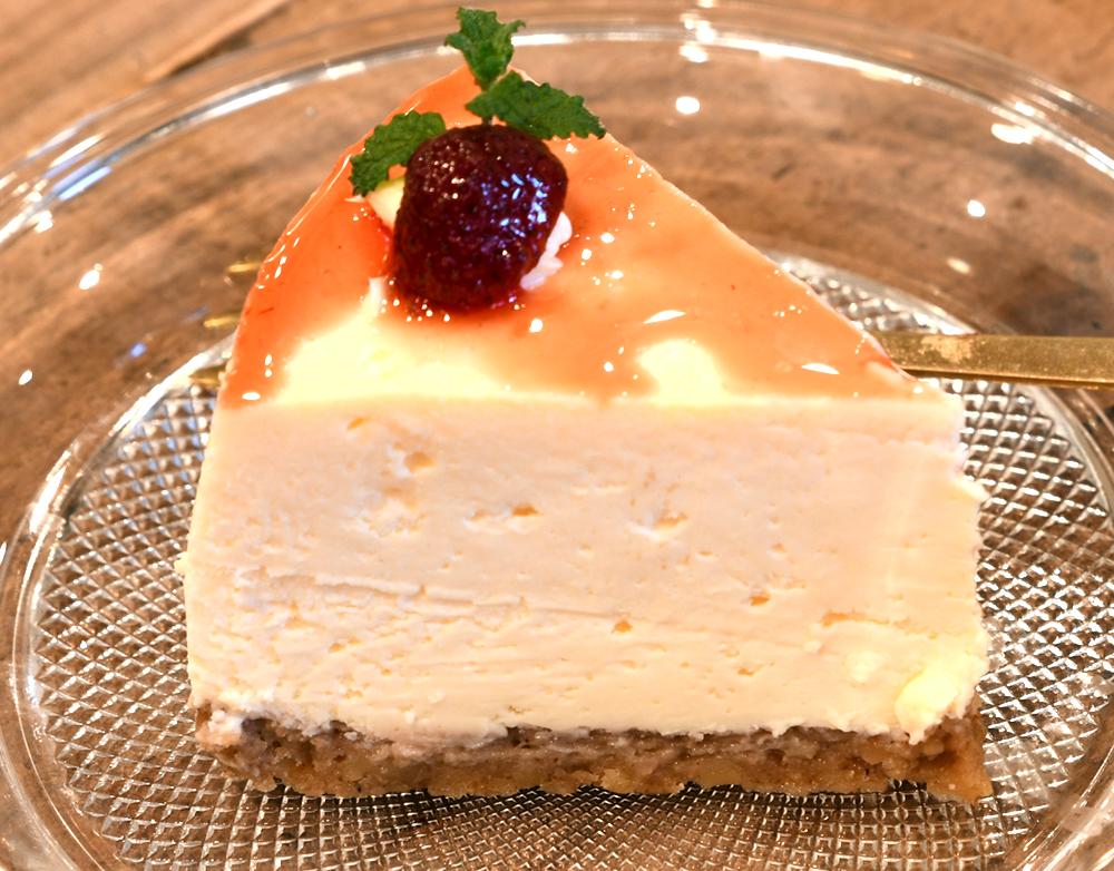 北海道産クリームチーズのチーズケーキ