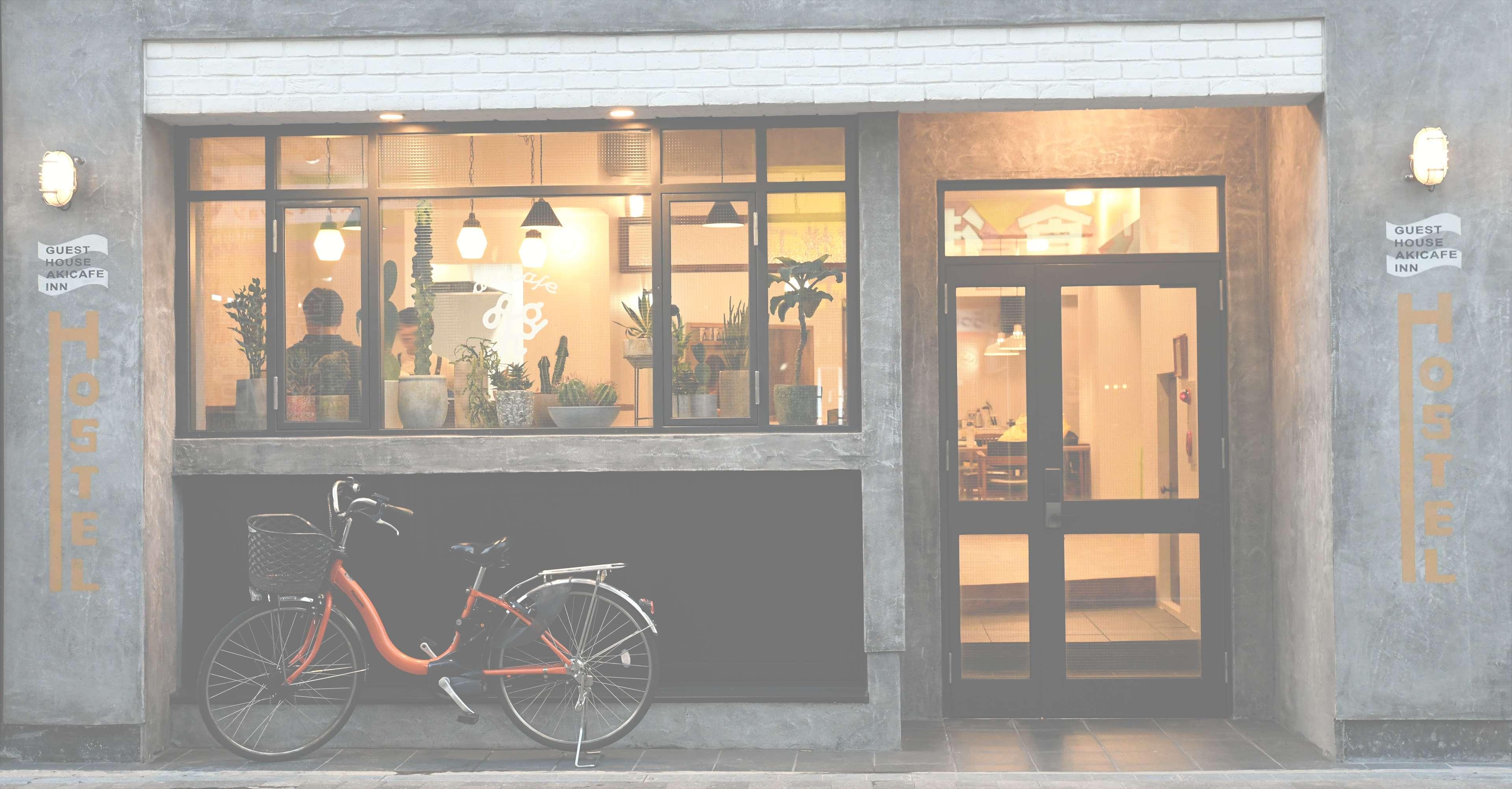 akicafe inn guesthouseのカフェの画像