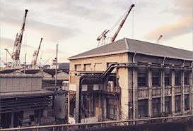 呉の工業地帯