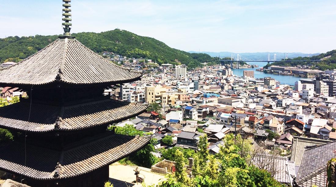 尾道千光寺からの眺め