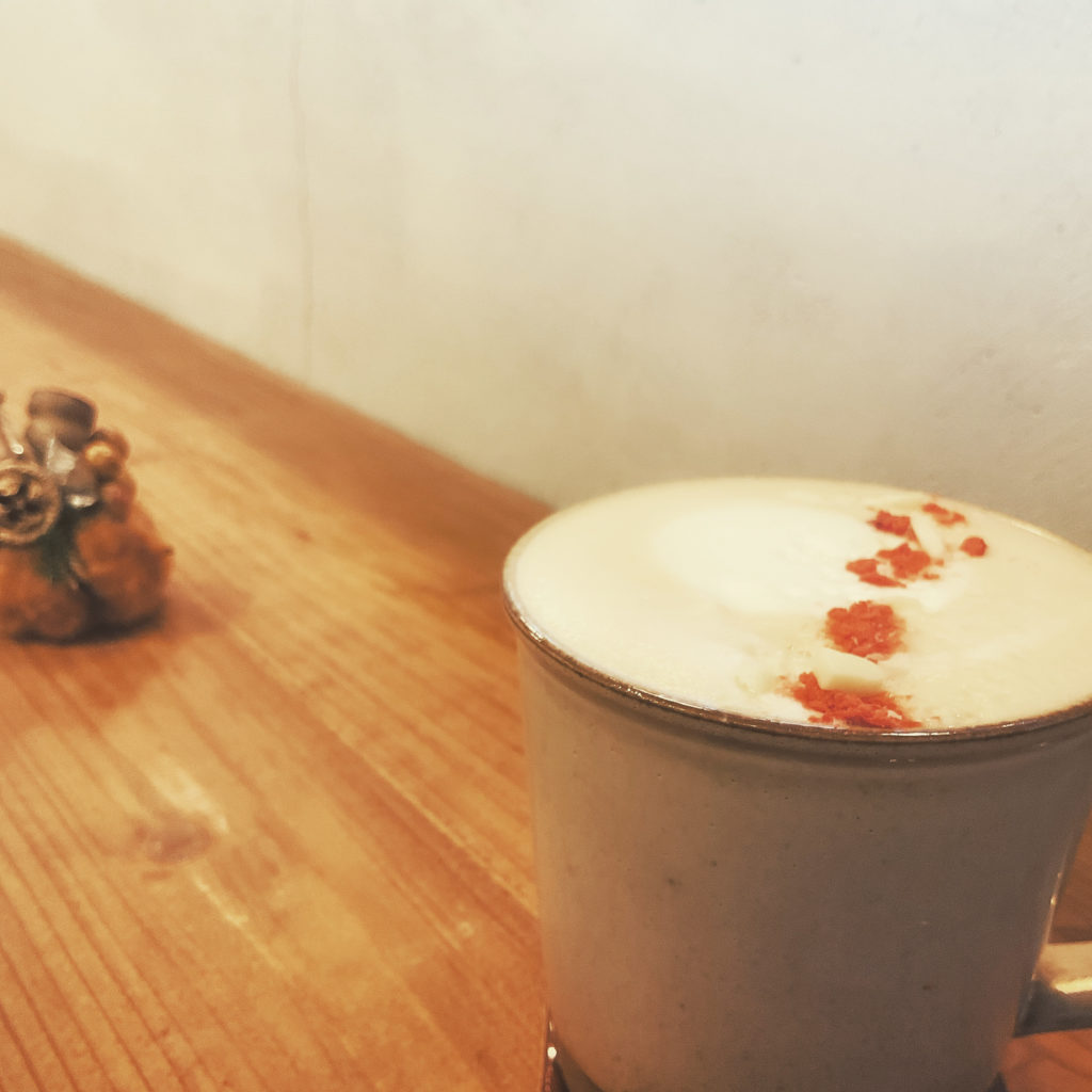Strawberry Tea Latte