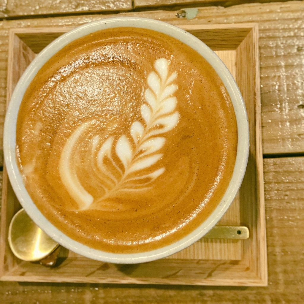 Enjoy latte art!